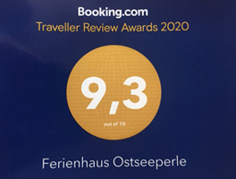 Ferienhaus Ostseeperle - Booking.com - Traveller Review Awards 2020